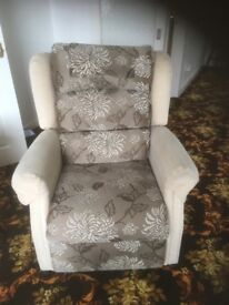 Oak tree mobility reclining chairs excellent condition x 2