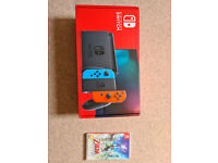 Selling Nintendo Switch and Skyward Sword HD (Unopened)