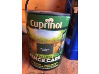 Cuprinol woodland green brand new not opened