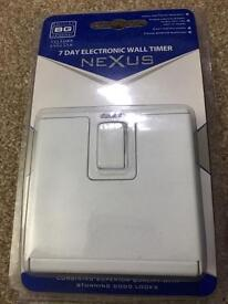 7 DAY PROGRAMMABLE LIGHT SWITCH £10