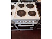 Electric Cooker - FLAVEL 50cm- Hotplate - White - Single Oven