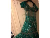 Fish tail prom dress