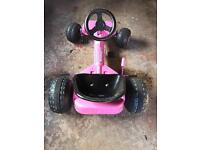 Child's Pedal car pink
