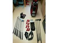 Nike cpr Callaway golf clubs set