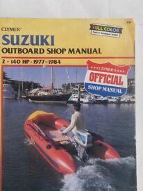 suzuki outboard workshop manual