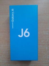 "Samsung Galaxy J6, 32GB/3GB/5.6"", Single Sim, New Condition Boxed, Unlocked"