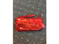 Red sequin bag