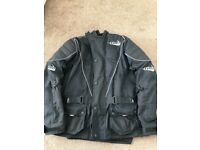 Tuz motorcycle jacket and trousers
