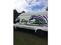 Mobile Hydrobath Dog Wash Van - eye catching fit out - be your own boss and no franchise fees