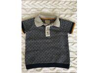 Mamas&papas baby boy polo shirt.Size 3-6 months.