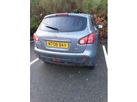 Nissan, QASHQAI, Hatchback, 2008, Manual, 1995 (cc), 5 doors Grey