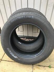 Michelin tyres x2, 185/65/15