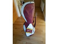 Taylormade Retro Golf Bag. New and Unused 6 Way Divider