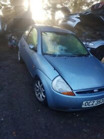 2005 FORD KA 1.3 PETROL BREAKING FOR PARTS