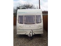 Avondale Dart 510/5 5 Berth Caravan 2001 Excellent best layout 2 sleeping areas at opposite ends