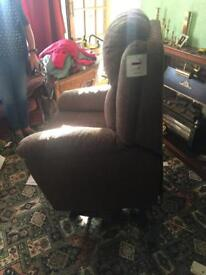 Electric Arm Chain Recliner and Forward Tip