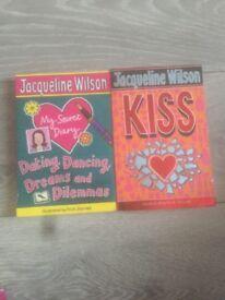 Pair of Jaqueline Wilson books