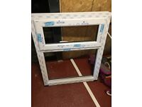 White double glazed window ordered by mistake