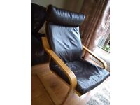 Brown IKEA chair. Good condition. Sold as seen.
