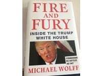 Fire and Fury the Donald Trump story