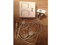 iPod, iPhone or iPad charger and adapter
