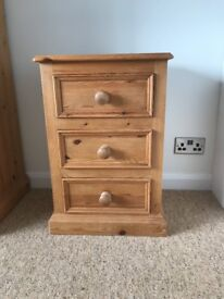 Sold Pine chest of drawers