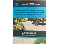 Building - landscaping & driveway services.