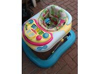 Chicco Baby walker removable play trey