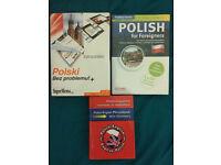 3x Polish language books + CDs NEW