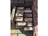 Free old paving bricks and house bricks