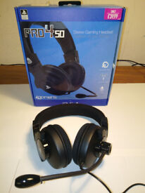 4Gamers Stereo Gaming Headset