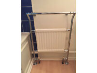 Second-hand traditional towel rail radiator