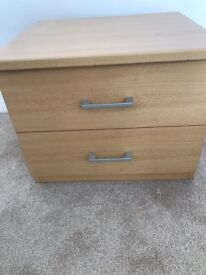 Beech wardrobes , chest and beds ide cabinets
