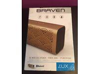 Braven Lux Portable Wireless Speaker - Purple RRP £90