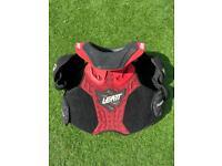 Leatt fusion motocross body armour youth