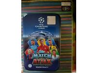 Match attack football cards