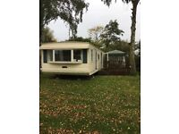 Classic Novara, 2003, Static Caravan, 2 bedroom, open plan, large decking, Situated in Emberton Park