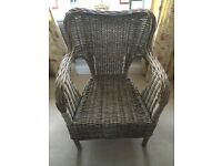 Ikea Wicker Chair RRP £95