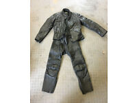 Ladies motorcycle leathers - jacket, trousers and gloves