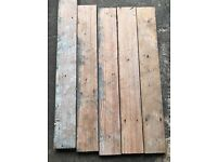 Rustic Pitch Pine Plank Flooring - 100 m2 in stock!