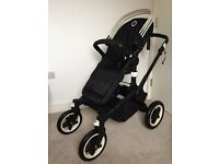Brand new Bugaboo Buffalo pushchair leather handle limited edition