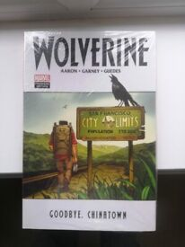 Wolverine - Goodbye Chinatown HC TPB comic brand new and sealed