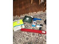 CAR EMERGENCY BREAKDOWN AND FIRST AID KIT