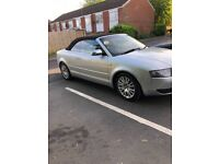 Audi A4 convertible 1.8 turbo