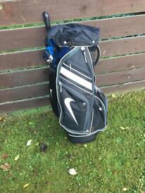 Golf clubs+ bag