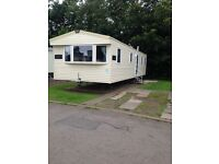 Haggerston Castle Holiday Hire Deluxe Caravan for rent