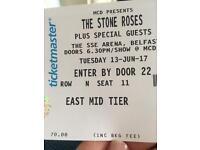 Stone roses ticket x2