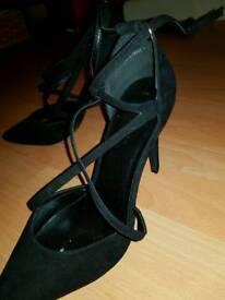 Womens black stiletto New Look