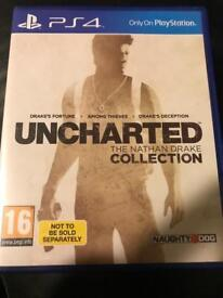 Uncharted collection Ps4 £12