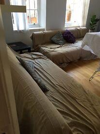 2 convertible sofas free